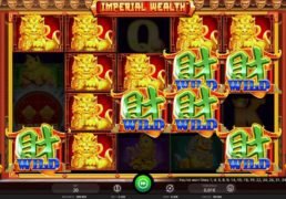 Imperial Wealth Slot Machine Screenshot 1