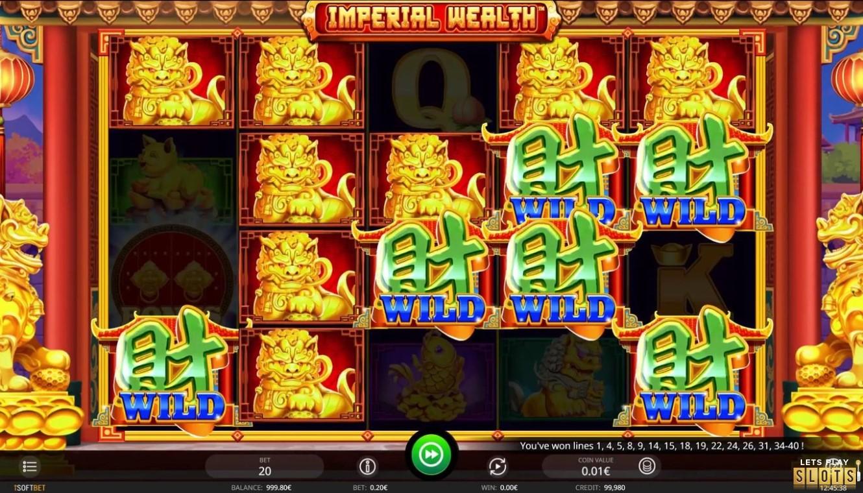 Imperial Wealth Slot Machine Screenshot 1