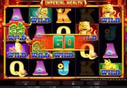 Imperial Wealth Slot Machine Screenshot 2