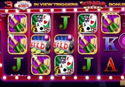 Kings of Vegas Slot Machine Screenshot 2