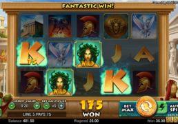 Medusa_s Curse Slot Machine Screenshot 2
