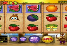 Monkey Money Slot Machine Screenshot 2