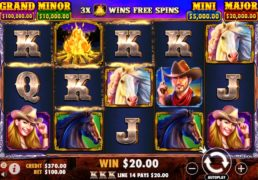 Mustang Gold Slot Machine Screenshot 2