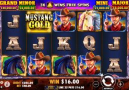 Mustang Gold Slot Machine Screenshot 3