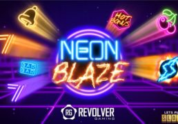 Neon Blaze Slot Machine Screenshot 1