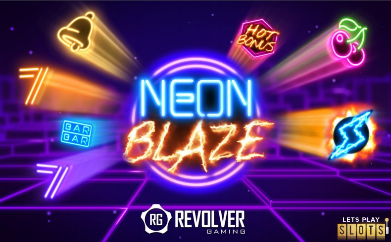 Neon Blaze Slot Machine Screenshot 1