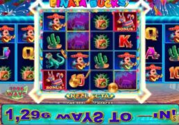 Pinata Bucks Slot Machine Screenshot 3
