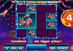 Pinata Bucks Slot Machine Screenshot 4
