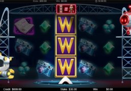 Reach for the Stars Slot Machine Screenshot 2