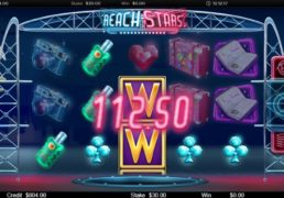 Reach for the Stars Slot Machine Screenshot 3