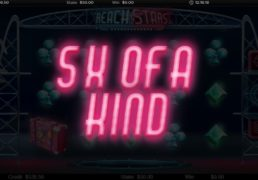 Reach for the Stars Slot Machine Screenshot 4