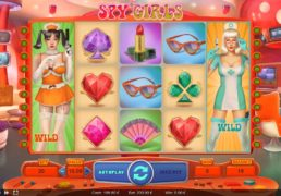 Spy Girls Slot Machine Screenshot 2