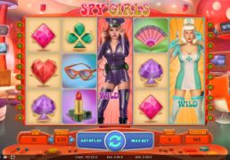 Spy Girls Slot Machine Screenshot 4