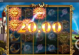The Wiz Slot Machine Screenshot 3