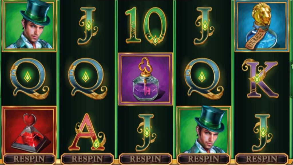 Image result for BOOK OF OZ SLOT