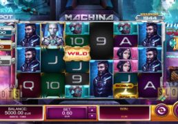 "Relax Gaming Takes MegaWays Slots Sci-fi With ""Machina"""