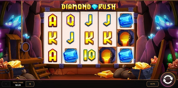 diamond-rush screenshot 1