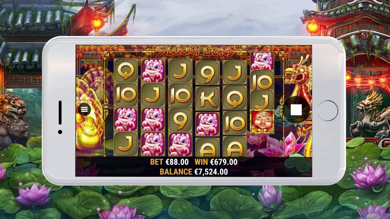 Spiele 5 Lucky Lions - Video Slots Online
