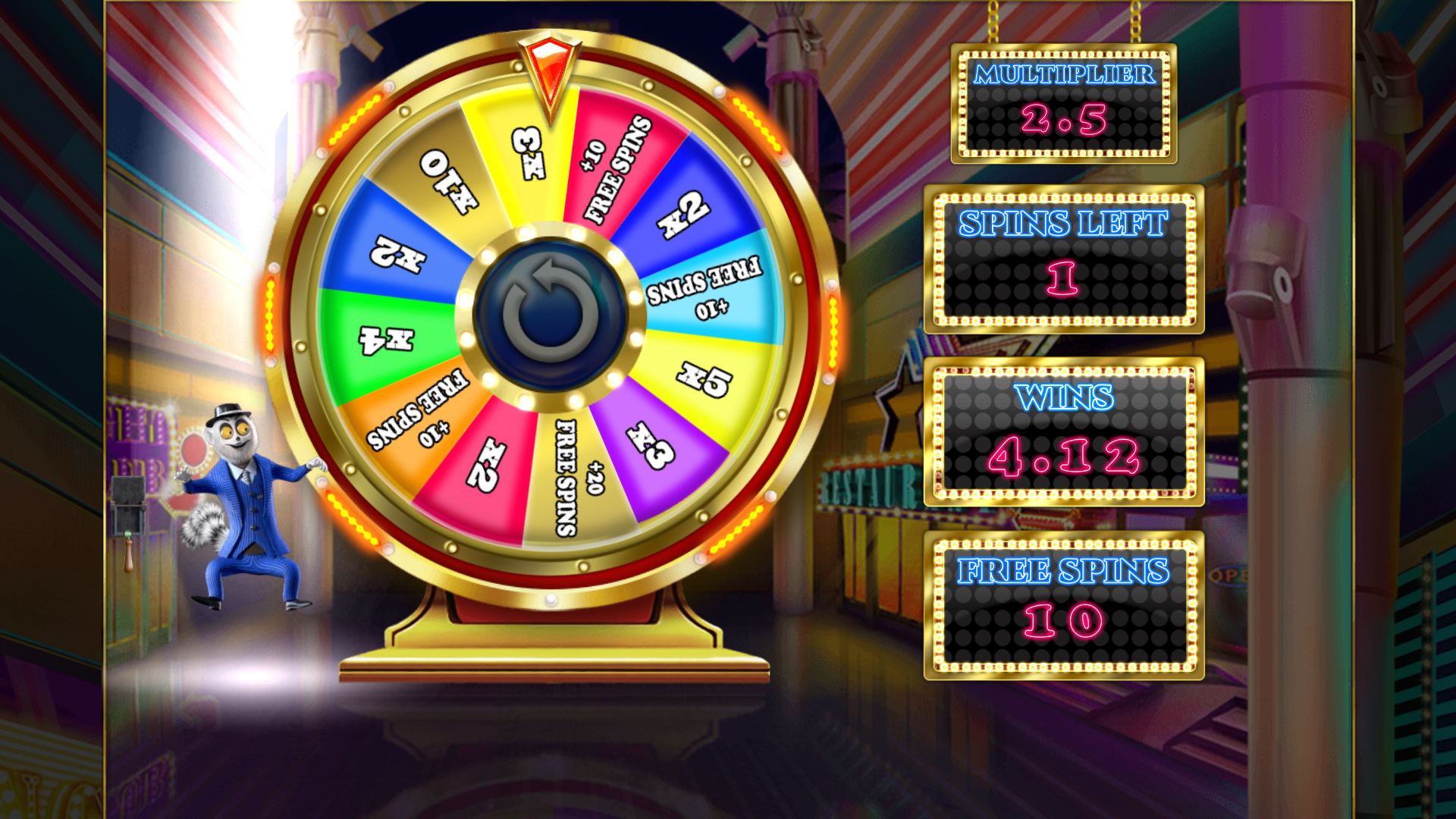 Spiele Lemur Does Vegas - Video Slots Online