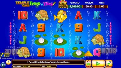 Temple Cash Frogs 'N Flies Slot Launched By Lightning Box Games