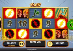 Playtech Catches 'The Flash' For New DC Comics Slot