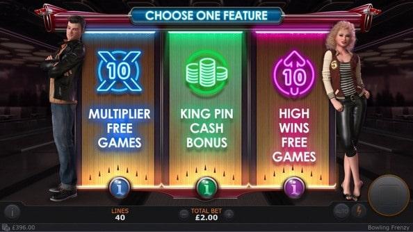 Bowling Frenzy Slots Machine
