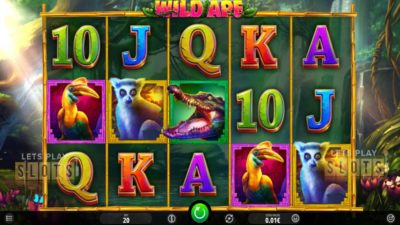 "Go ""Wild Ape"" In The African Jungle With New iSoftBet Slot"