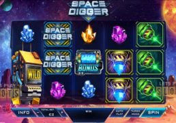 "Playtech Takes You To On A Space Exploration With ""Space Digger"""