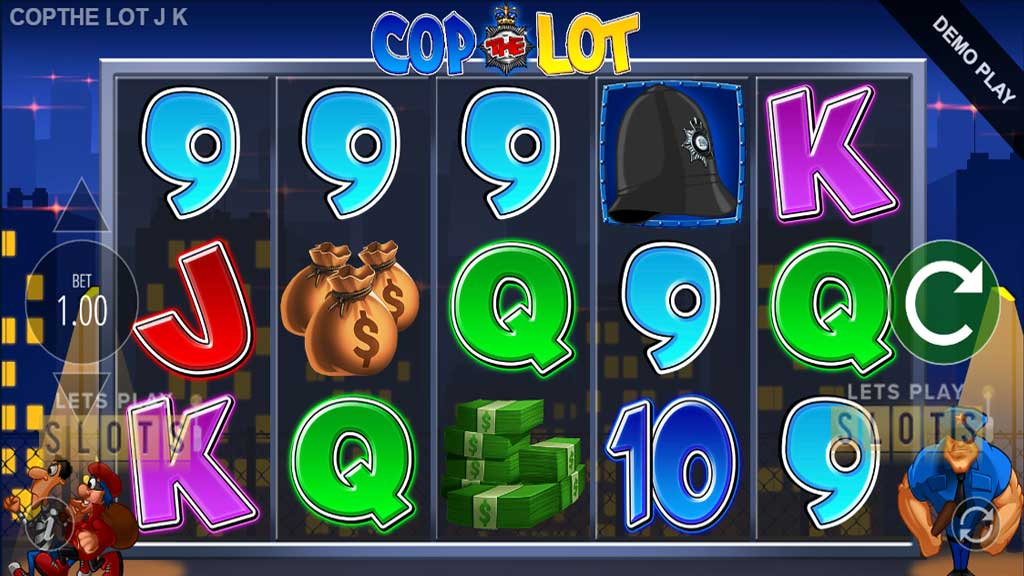 "Catch Bad Guys With A Revamp To The Classic Slot ""Cop The Lot"""