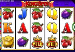 "Blueprint Gaming Launches ""King Spin Deluxe"" On Jackpot Network"