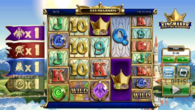 "Get A Royal Chance To Win Big With New ""Kingmaker"" Slot From BTG"