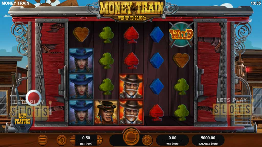 Ride the Rails With Relax Gaming's New Money Train Slot