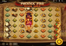 Get Fiery With Red Tiger Gaming's New Phoenix Fire Power Reels