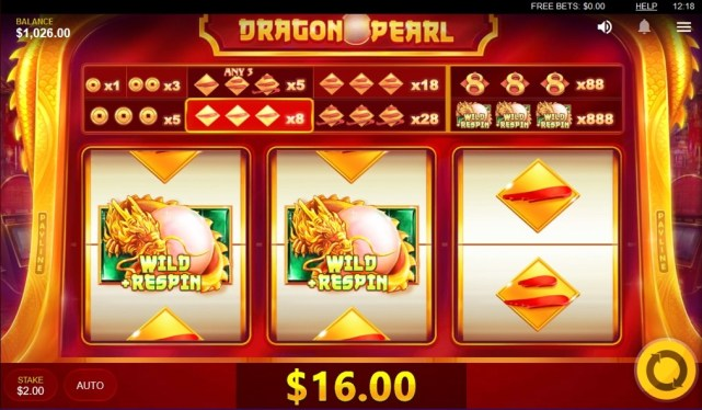 Dragon Pearl Slot Machine