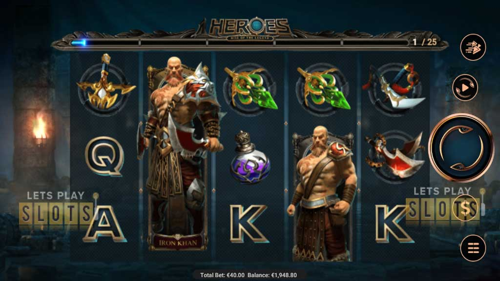 Heroes Rise of the Legend
