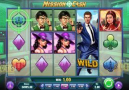 "Play'n GO Takes You On An Undercover Assignment With ""Mission Cash"""