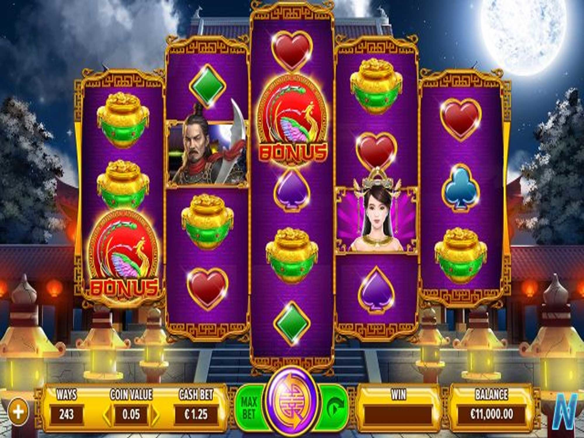 Play The No Download The Warrior Slots On This Page