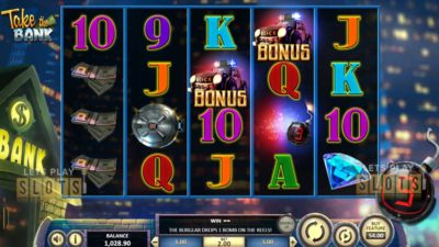 Betsoft Gaming: Take The Bank Slot