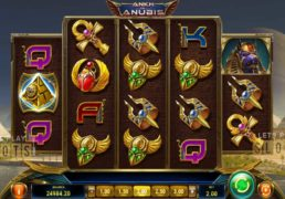 "Slot Players To Be Taken To Egypt In Search For The ""Ankh of Anubis"""