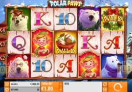 "Quickspin Releases First Christmas Themed Slot Titled ""Polar Paws"""
