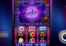 "Get Ready To Go Back To The 80s With Slot Game ""Hit It Hard"""