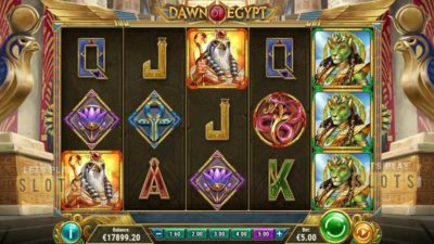 "Go Back In Time To The ""Dawn of Egypt"" With Play'n GO"