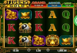 "Boongo Comes Out With New ""Tigers Gold: Hold and Win"" Slot"