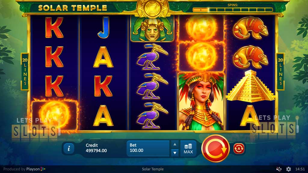 "Experience The Wonders of The Aztecs In New ""Solar Temple"" Slot"