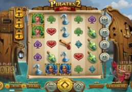 Yggdrasil Releases New Pirated Themed Sequel Called Pirates 2 Mutiny