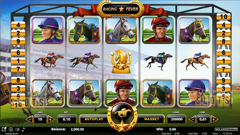 "Equestrian Slot ""Racing Fever"" Is Released By We Are Casino"