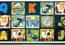 "The Beautiful Game Gets A Slot Twist In ""Football Cash Pots"""