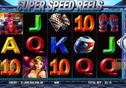 "Slot Factory Releases New Slot Titled ""Super Speed Reels"""