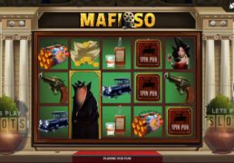 "Get Down And Dirty With Spinmatic's ""Mafioso"" Slot"