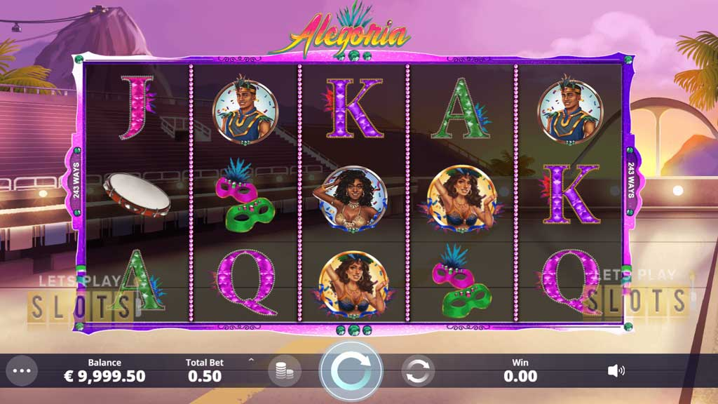 "Enjoy The Carnival In Brazil With ""Alegoria"" From Ipanema Gaming"